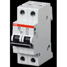 Автоматический выключатель S202 2P 1А C 6кА