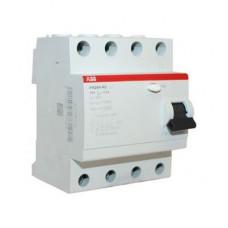Дифференциальный выключатель (УЗО) FH204 4P 25А 30мА AC ABB