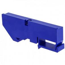 Изолятор на DIN-рейку синий