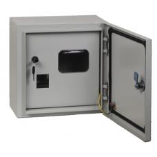 Щит учетный ЩУ-1/2 2-х дверный IP54 (310х300х160)