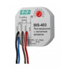 Реле импульсные с лестничным автоматом (таймером) BIS-403